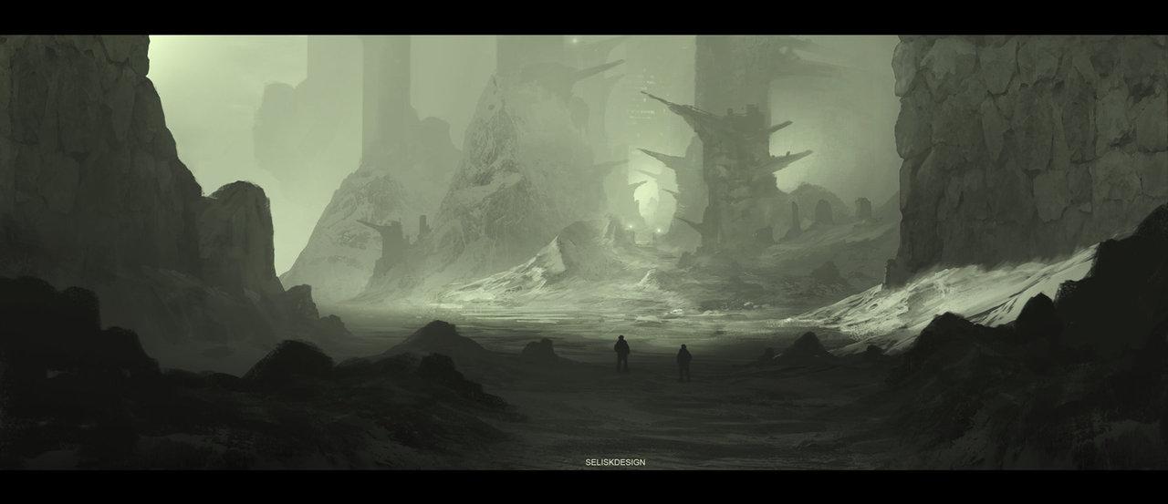 forgotten structures by seliskdesign