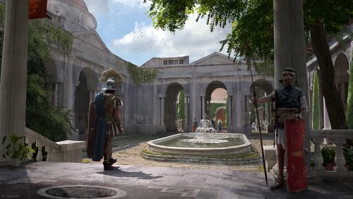 Display jumbo praetorian guard