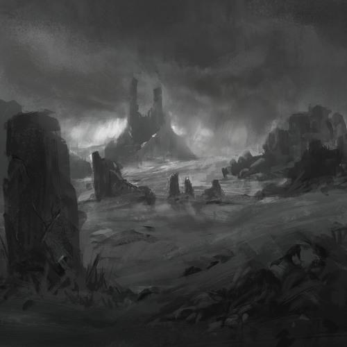 Castle Ruins by mikeredman