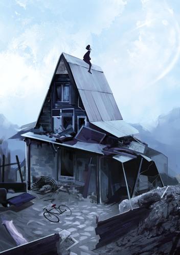 Display jumbo house