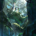 tree castle by claudiopilia