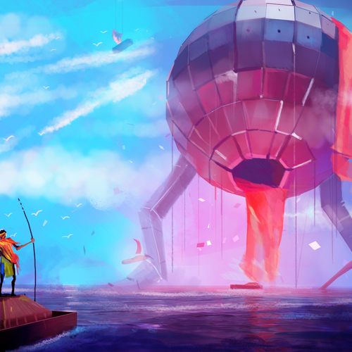 Sea Of Mothership by nazmul