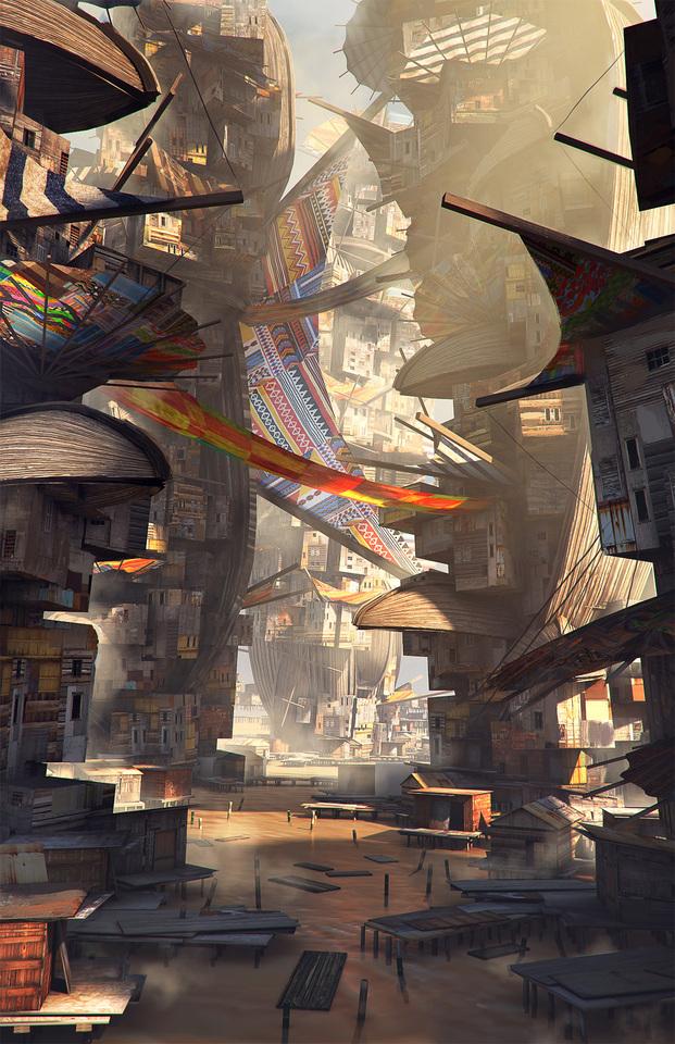 water slum by macdrab