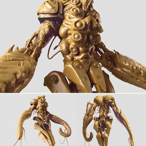 Marine Cyborg by rawi