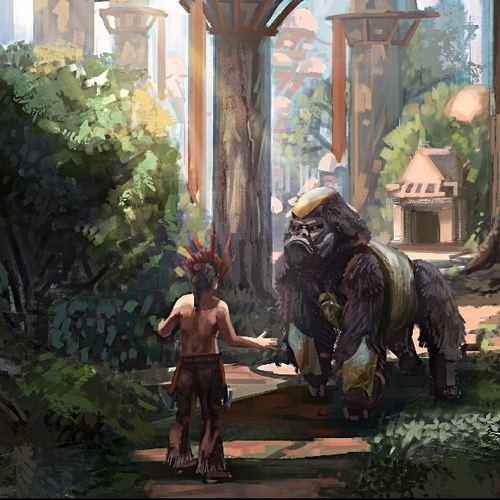 The Gorilla by bigloc