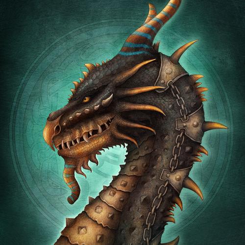 Egyptian Dragon by aishwaaryanant