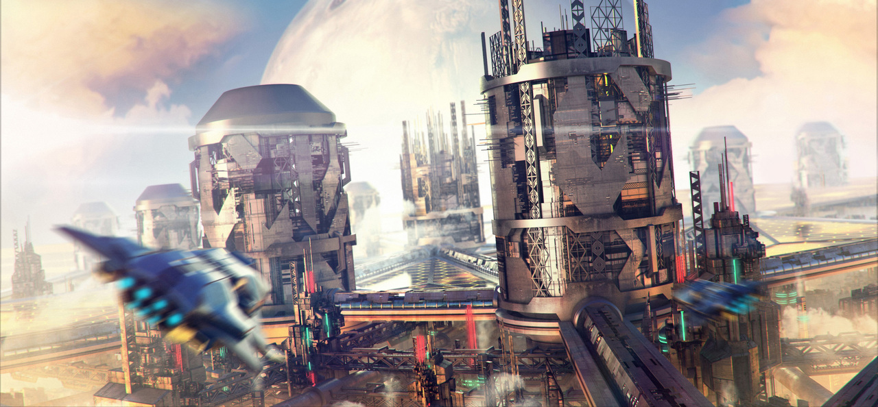 industrial colony by macdrab
