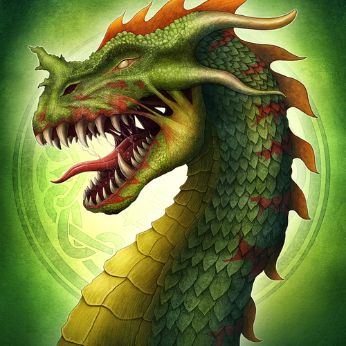 Zombie Dragon by aishwaaryanant