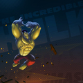the incredible hulk by codyschroder