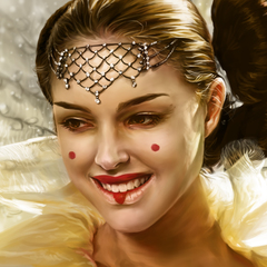 padme amidala portrait by catherinesteuer
