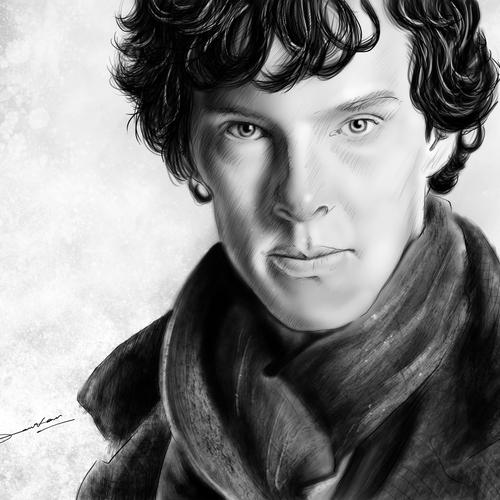 Sherlock Ed by satyaki