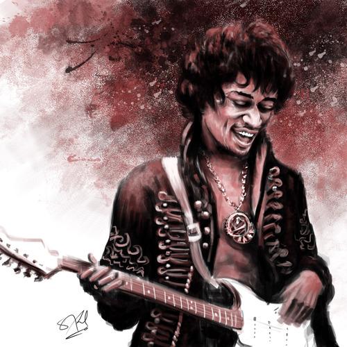 Hendrix by satyaki