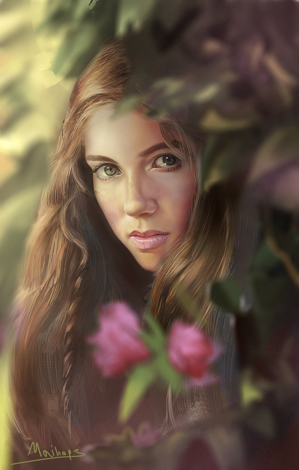 flower girl by maihope