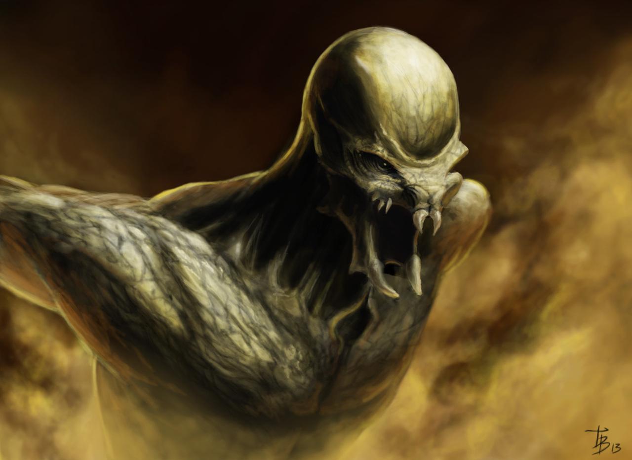 creature by thomasbignon