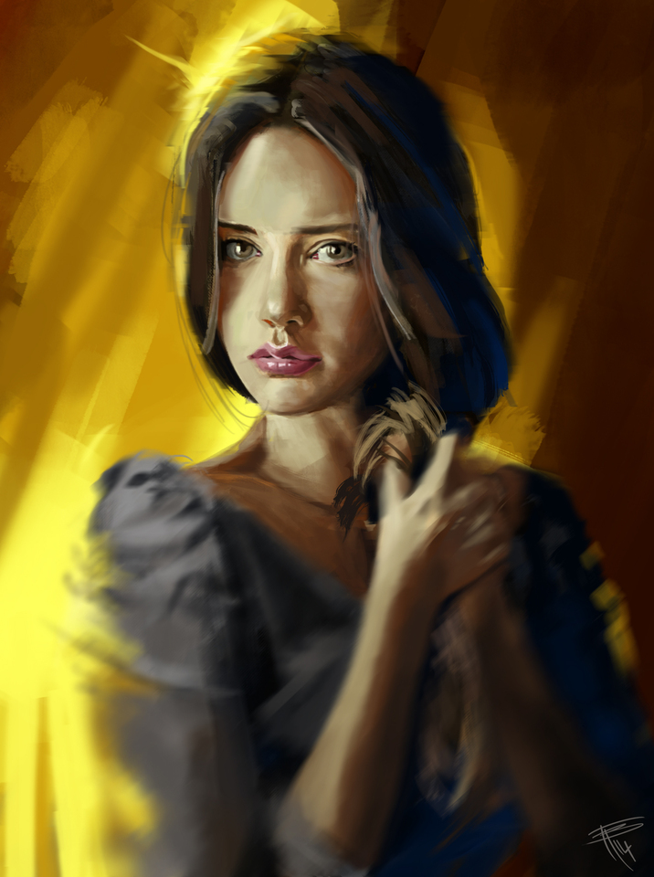 portrait study 4 by thomasbignon