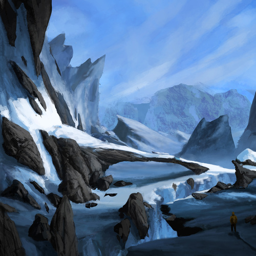 Frozen Landscape by thomasbignon