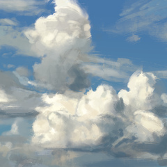 quick sky study 1 by thomasbignon