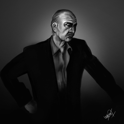 Old Man In Gray by arko