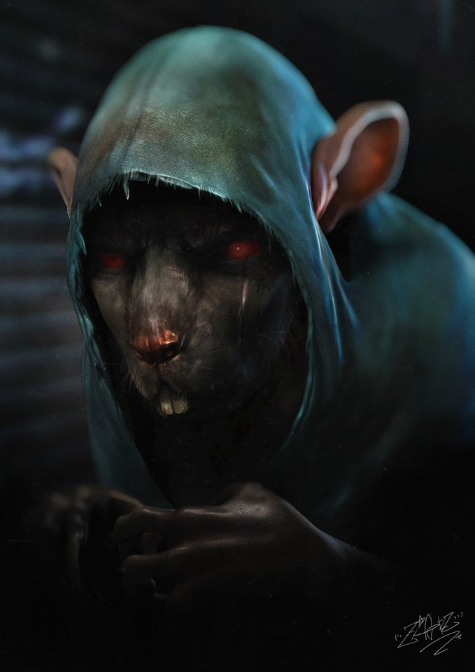the rat by zeiferz