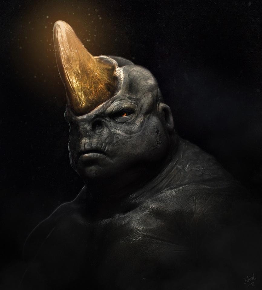rhino man by zeiferz