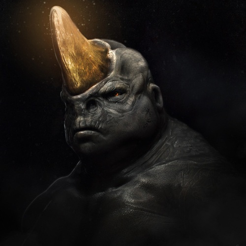 Rhino Man by zeiferz