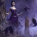 mistress crow by ricard_cendra