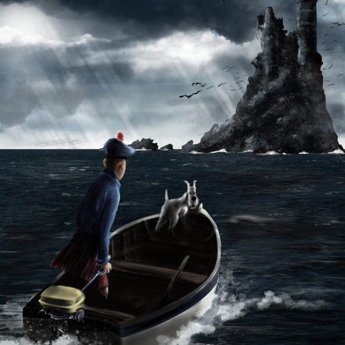 Tintin by arko