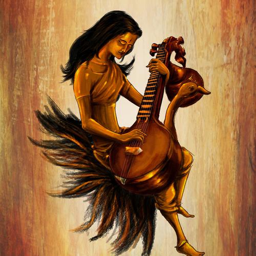 Saraswati by arko