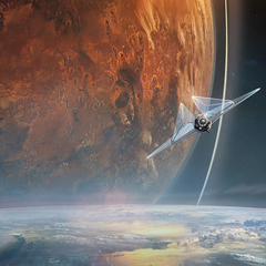 leaving the earth by jessicarossier