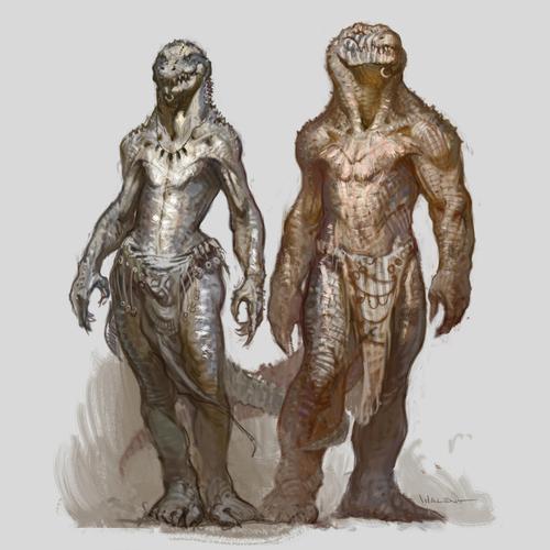 Crokodan Characters by vvalent