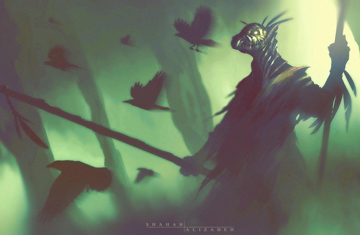 warlock by shahabalizadeh