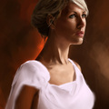 white dress by thomasbignon