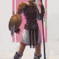 female gladiator by giby