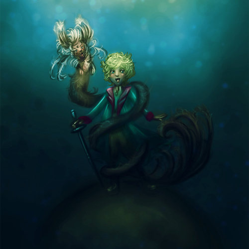 Le Petit Prince by tarcilaneves
