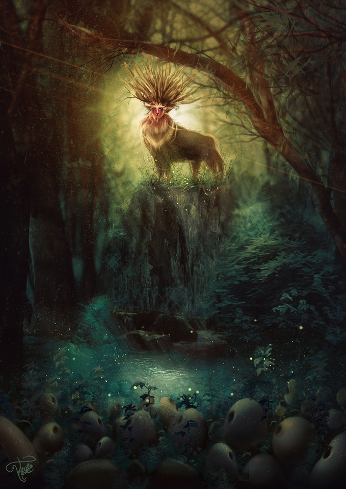 spirit of forest by tarcilaneves