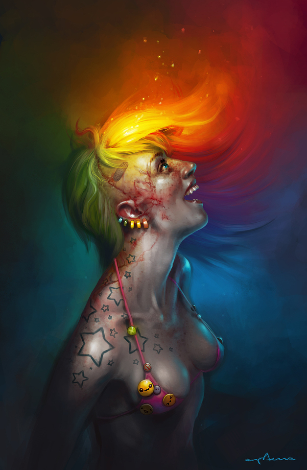 something quite colorful by apterus