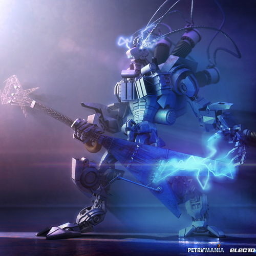 Rock And Roll Robot by mh.attaran