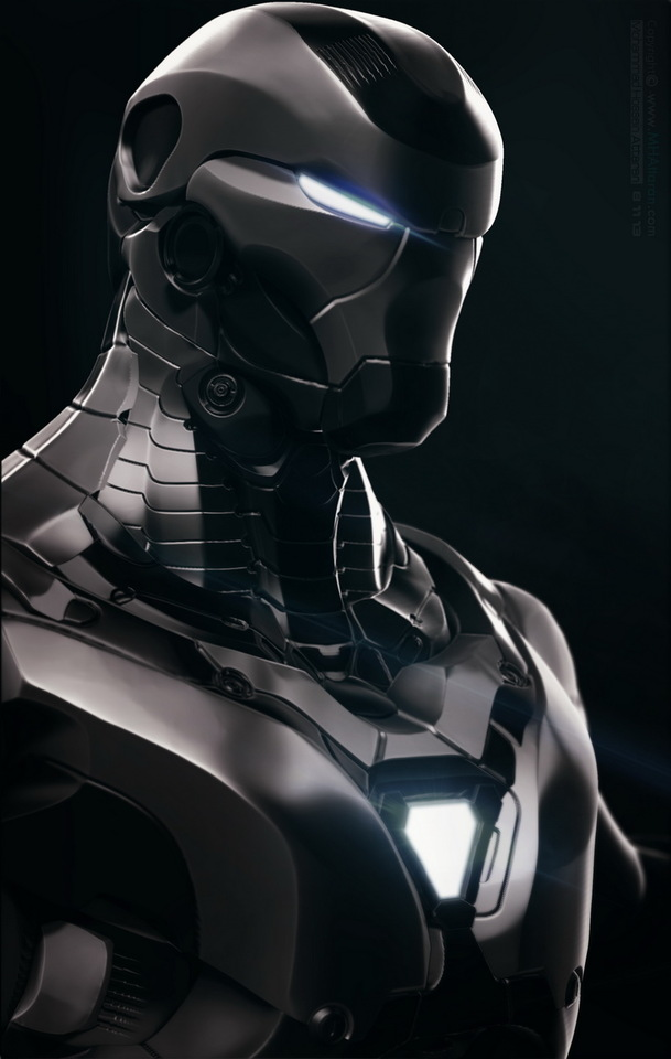 iron-man-concept by mh.attaran