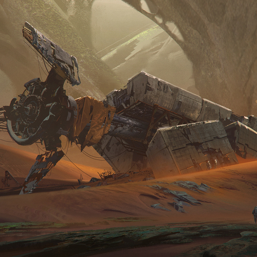 Crash Site Of Ark Sung Choi 1920 by sungchoi