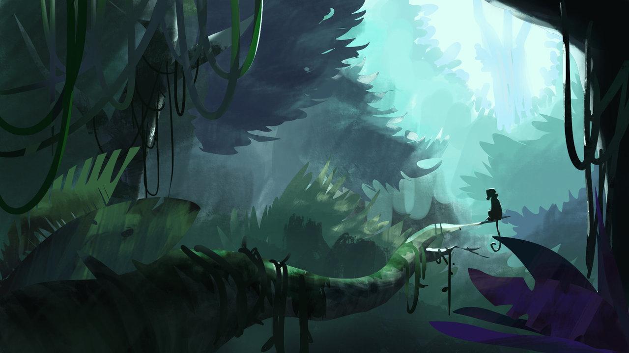 dense forest by samsam