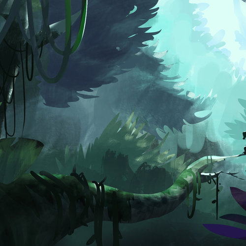 Dense Forest by samsam