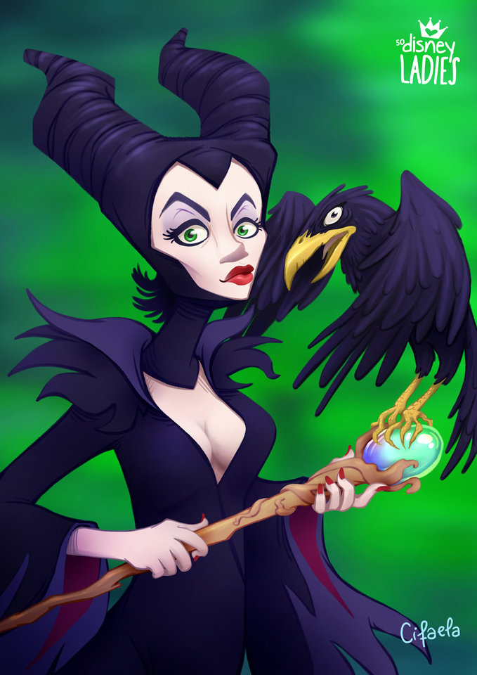 maleficent by cifaela