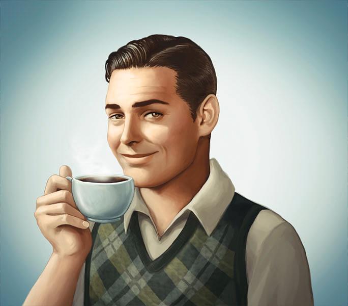 coffee by desenhorama