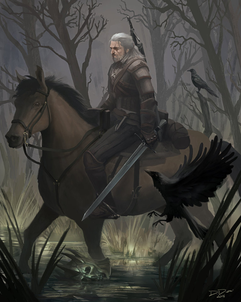 the witcher art contest by douglasderi