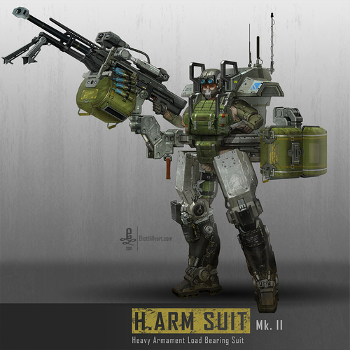 Harm Suit Mk 2 by eliott_lilly_art