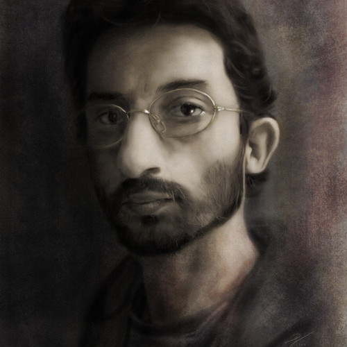 Selfportrait by theotenai