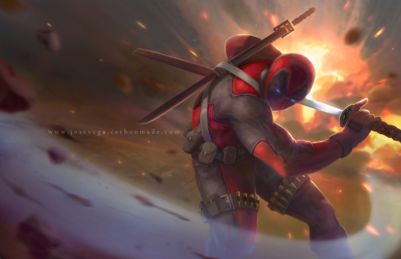 deadpool fanart by josevega