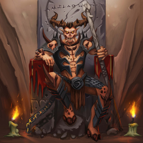 Demon Lord by duyal