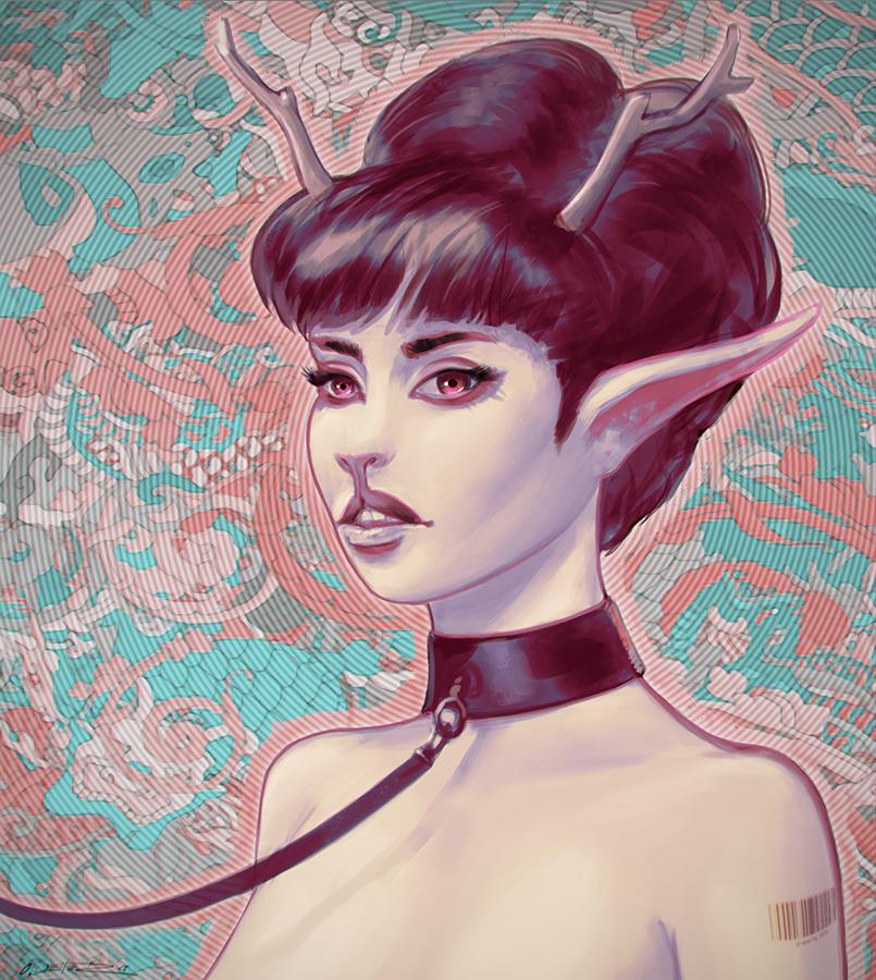 slave girl by fantasio