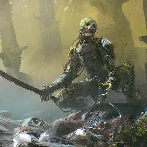 Mtg   Rot Farm Skeleton by maciej_kuciara
